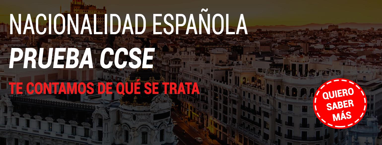 EXAMEN NACIONALIDAD ESPAÑOLA CCSE