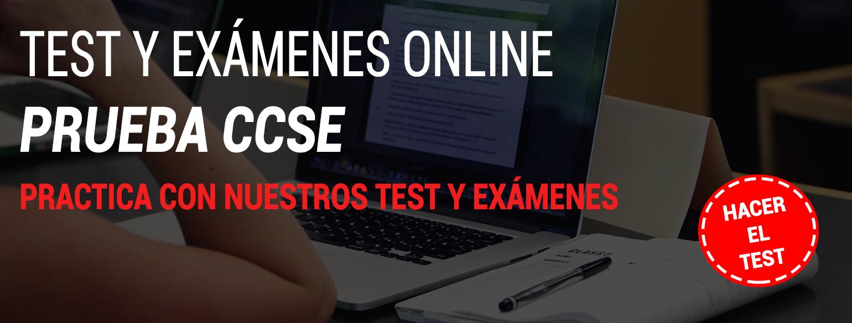 CCSE TEST ONLINE NACIONALIDAD ESPAÑOLA